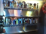 Draft beers at House of Brews