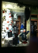 Great window displays greet shoppers in Milford