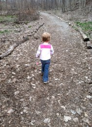 My little hike leader