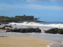 Beautiful beach walks (condo in background)