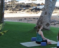 Yoga in Maui? Yes please.