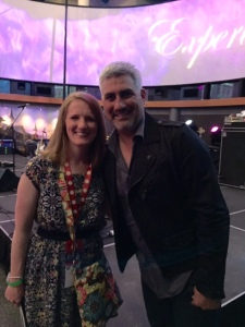 American Idol winner, Taylor Hicks, performed both days. A really nice guy!