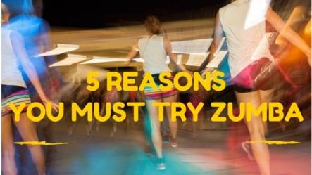 Zumba blog header