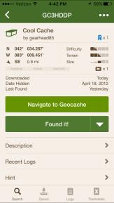 geocaching image
