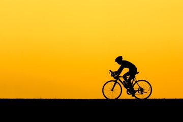 cycling_sunset